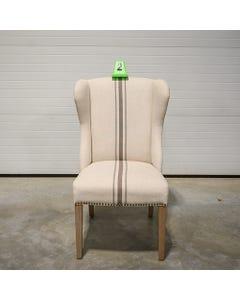 Jute / Gray Stripe Ellis Chair - SALE ONLY - 2