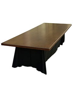 Fruitwood Tabletop with Legs - SALE ONLY