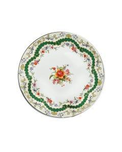 Green Antoinette Bread & Butter Plate - SALE ONLY